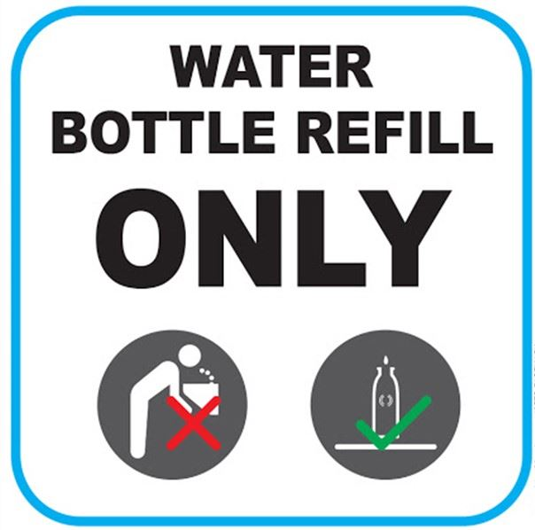 Water Bottle Re-Fills Only