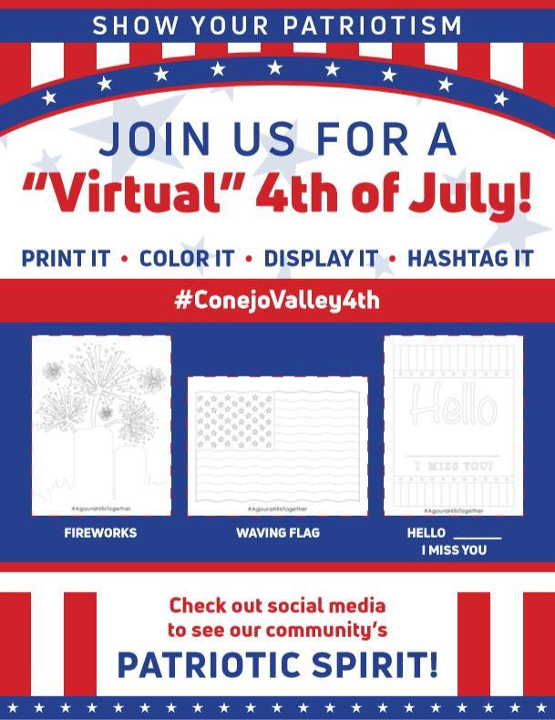 4th July Activity display image Opens in new window